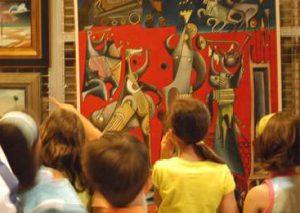 Visita Infantil 4añosA @ Museo Belas Artes | A Coruña | Galicia | España