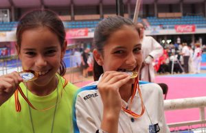 Campeonas de Taekwondo @ Colegio Hijas de Cristo Rey